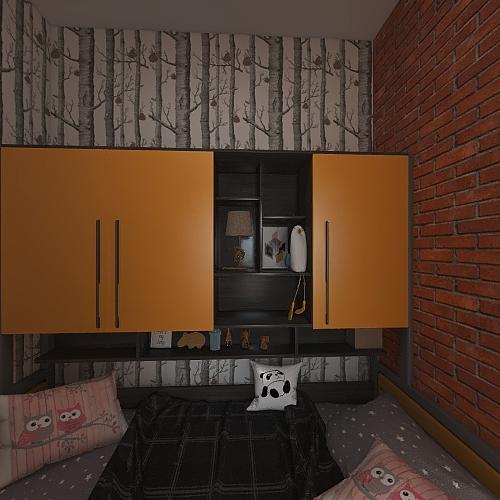 настя 2 Interior Design Render