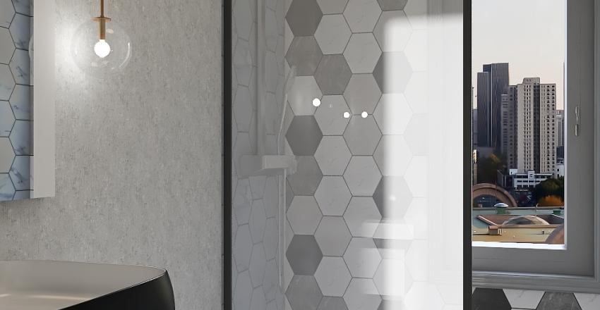 House 3 bedrooms Interior Design Render
