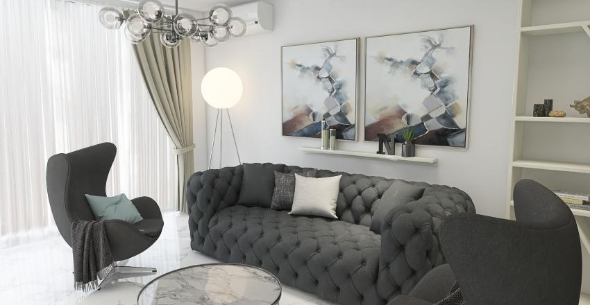 N apartment Interior Design Render