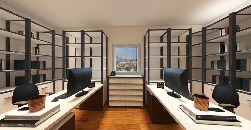 Office Service Interior Design Render