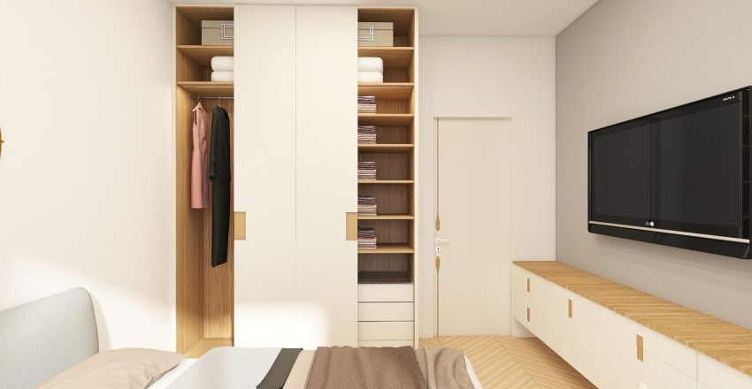 Geppy's Room Interior Design Render