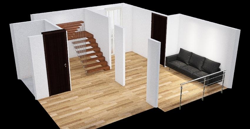 AmbarDuplex Interior Design Render