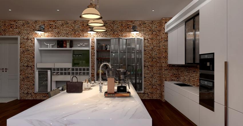 Old Brewery Comeback - Interior Design Interior Design Render