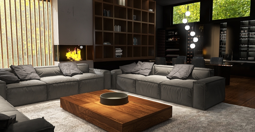 N°5 Interior Design Render