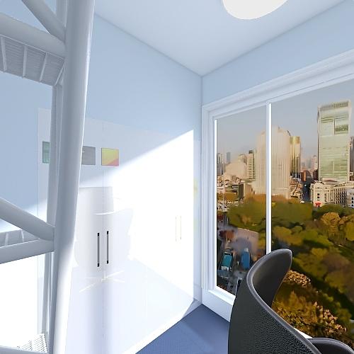 Level House Interior Design Render