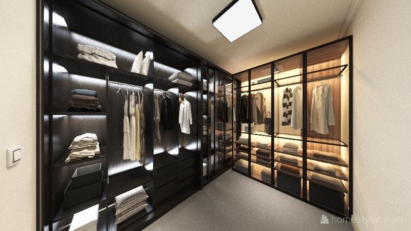 副本-3室3卫2厅1车库单层别墅 31 Interior Design Render