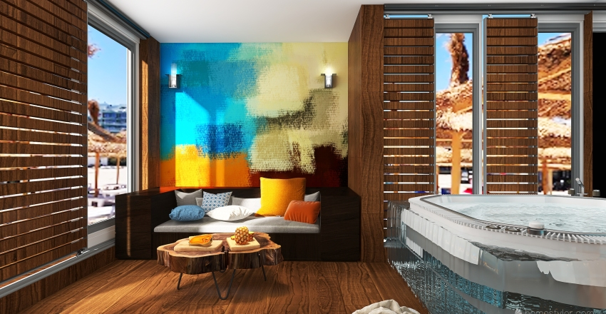 tapet6 Interior Design Render