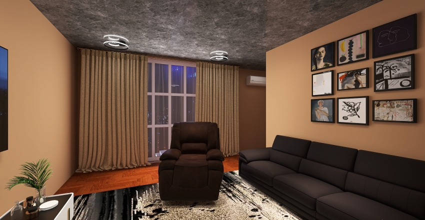 Extrovertida Interior Design Render