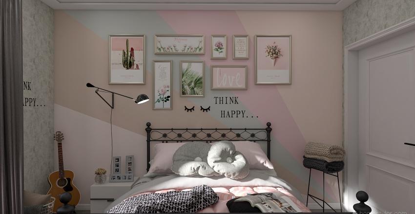 girly Interior Design Render