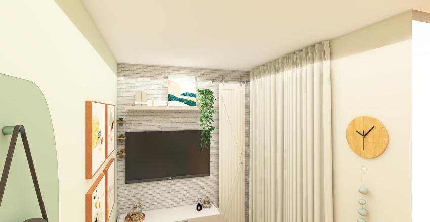 Small, but cozy Interior Design Render