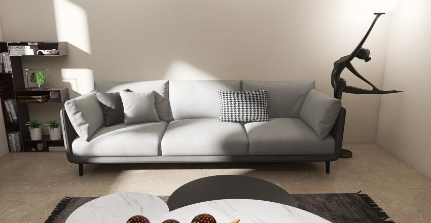 Relaxing living room.  Interior Design Render