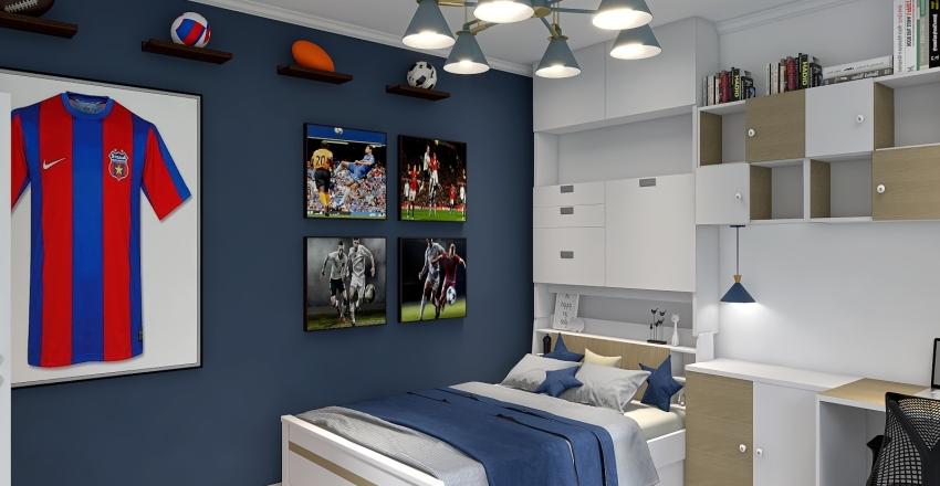 Casa bragadiru etaj Interior Design Render
