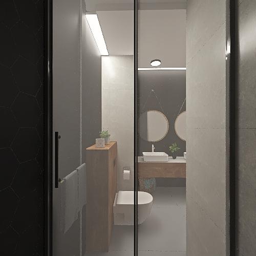 Centaurus z prysznicem Interior Design Render