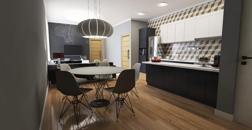 Pequeno apartamento v2 Interior Design Render