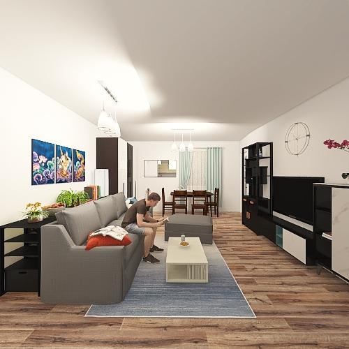 Living room Idea #2 Interior Design Render