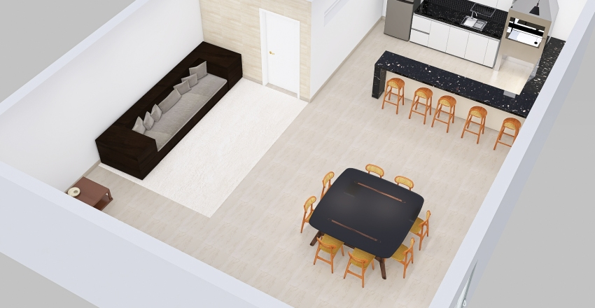 3d 30 Andrea Vieira Mendes 185.960.288-62 Interior Design Render