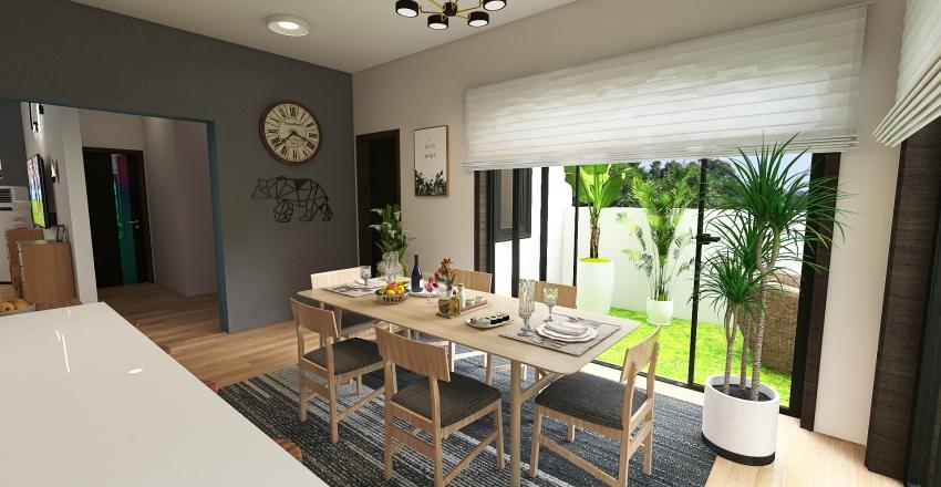 Rohtak Villa Interior Design Render