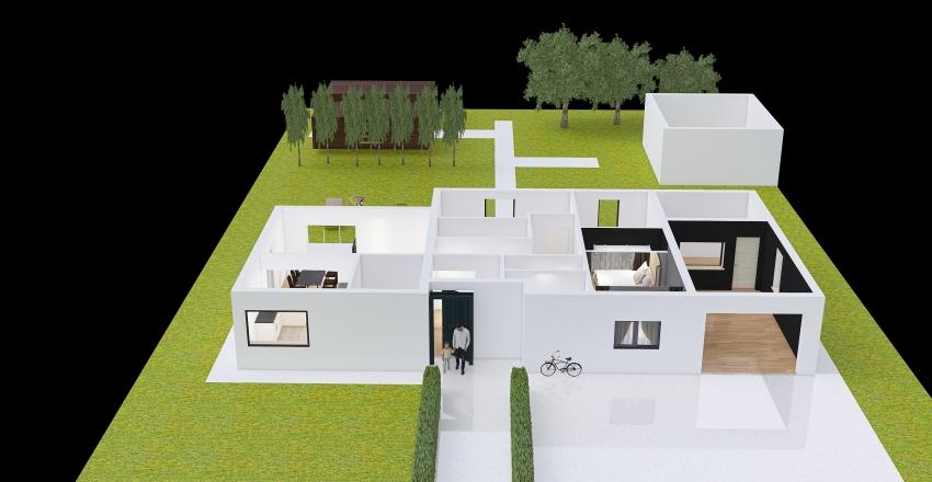 222Copy of последний вариант дома Interior Design Render