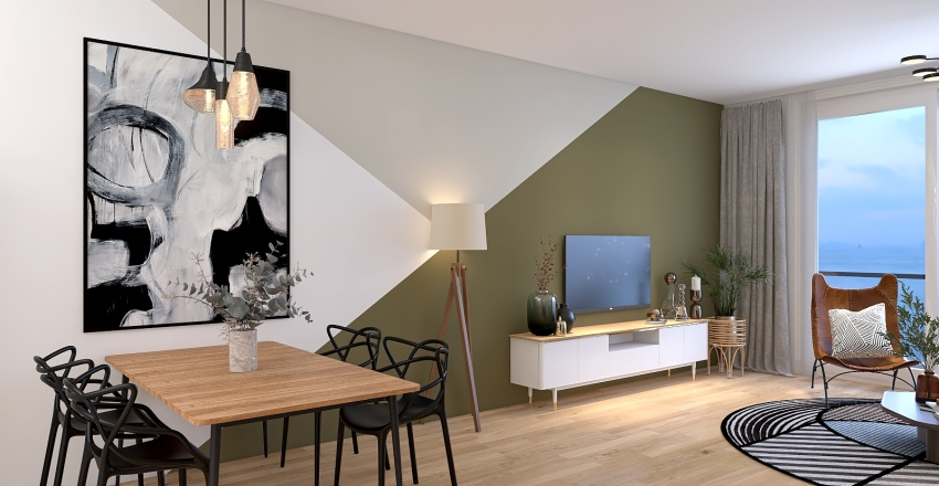 MyLivingRoom Interior Design Render
