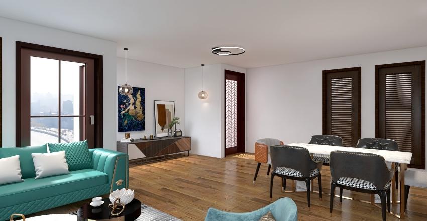 deco Interior Design Render