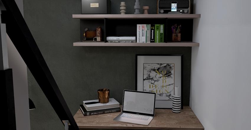 Basement by Fiedor Design Interior Design Render