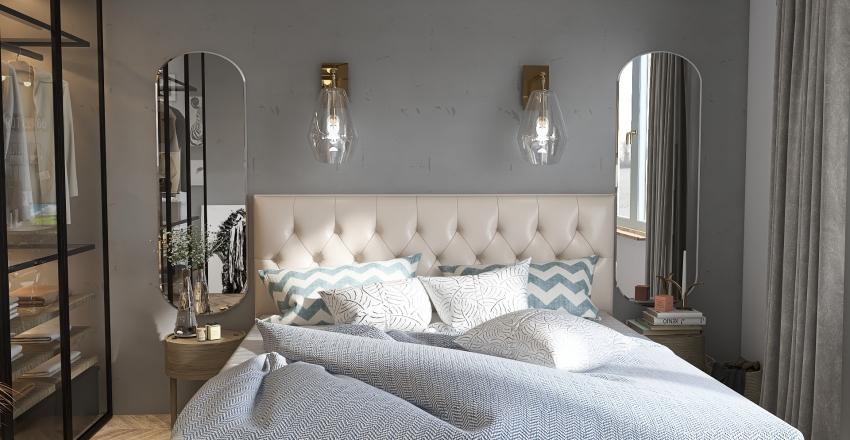 roomates apartment Interior Design Render