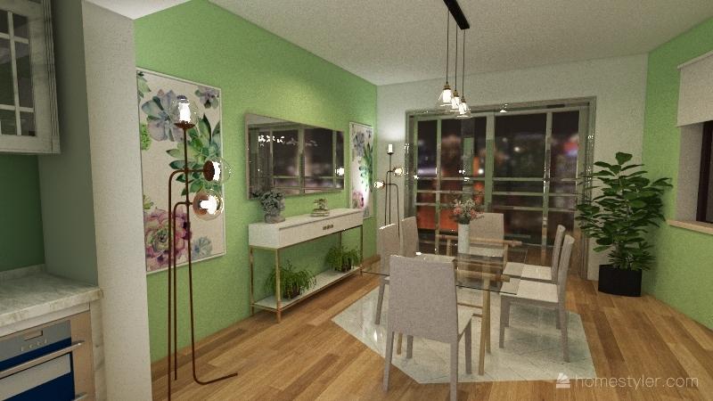 act.05 scarlett Interior Design Render