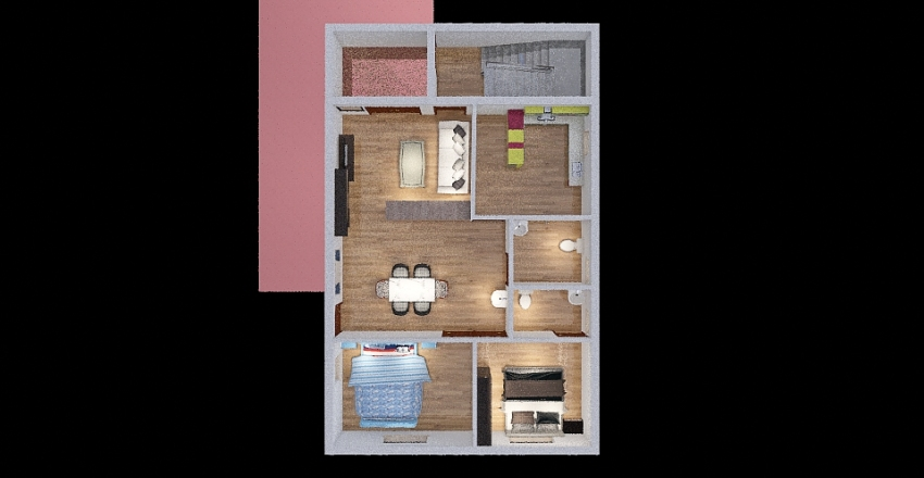 divas 121 Interior Design Render