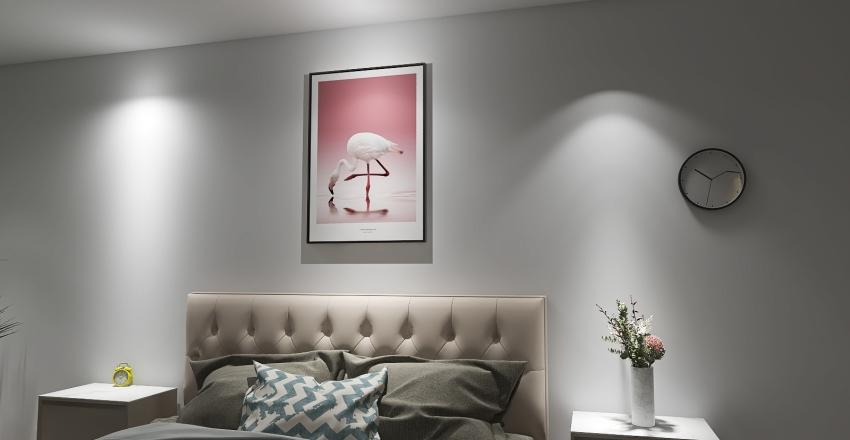 BIG BEDROOM Interior Design Render