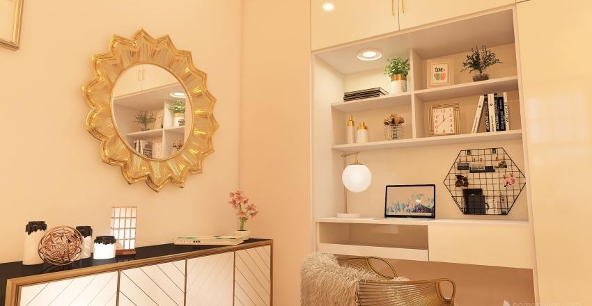 Havitacion  de  adolesente  . Interior Design Render