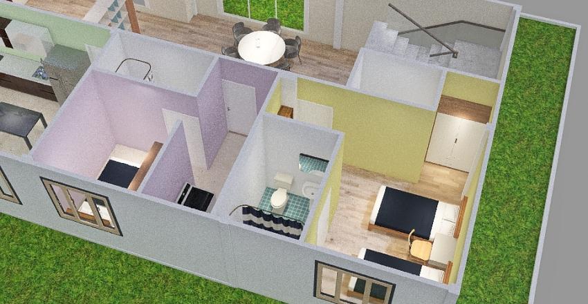Dragon Ground Floor Interior Design Render