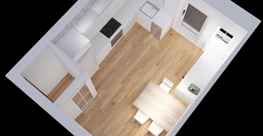COCINA DAVID CON TIRADORES Interior Design Render