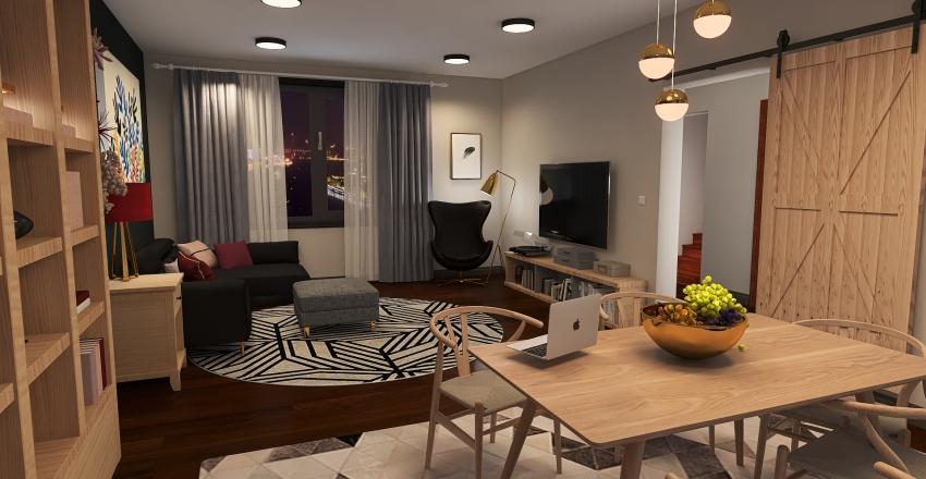 House Re-do Interior Design Render
