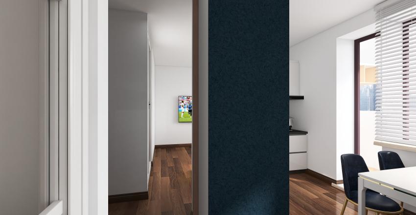 Циалковского план 5 Interior Design Render