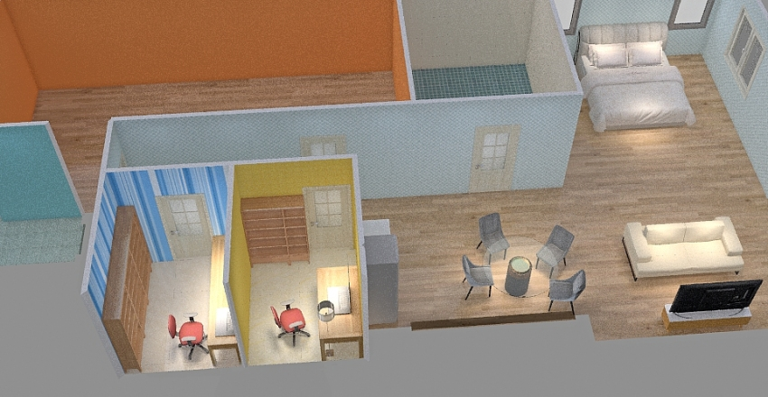 MBR Interior Design Render