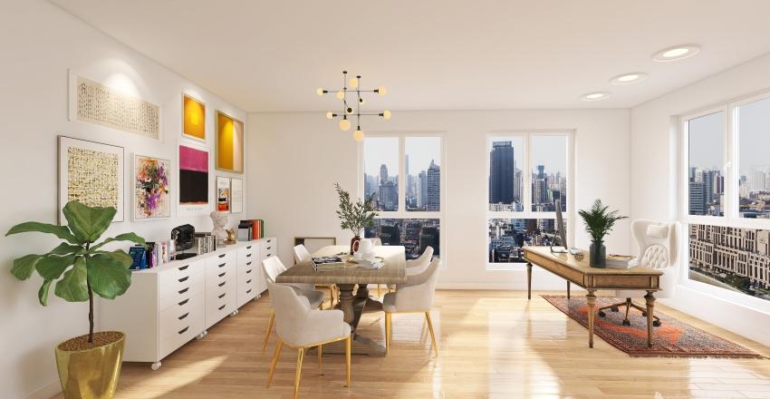 OfficStudio FranScha Interior Design Render