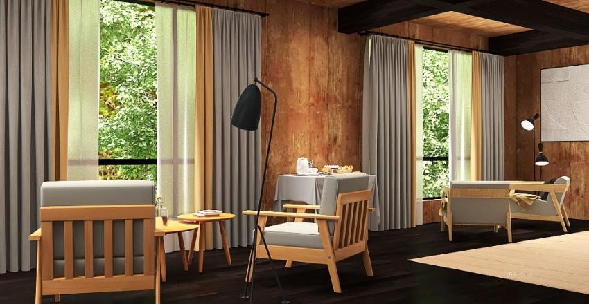 Perdidos en el bosque Interior Design Render