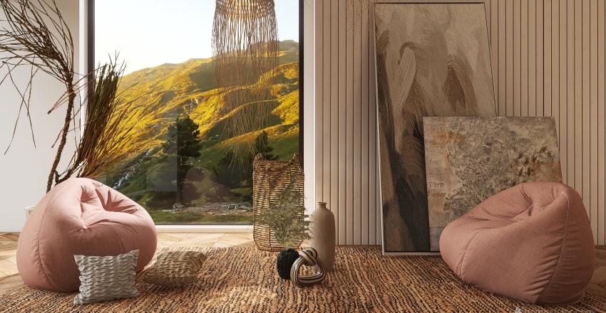 A VEIW OF THE MOUNTAINS Interior Design Render