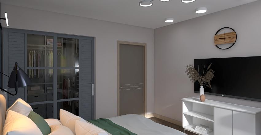 Спальня 2 Interior Design Render