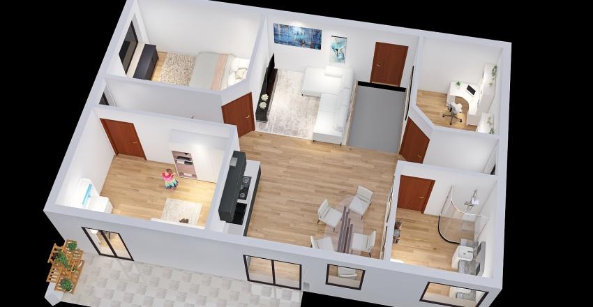 PROGETTO QUASAR Interior Design Render