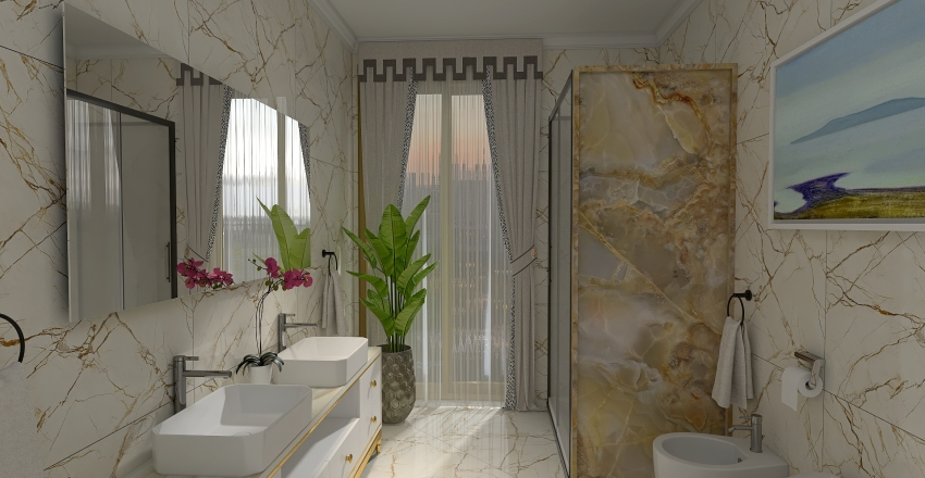 Bagno Dom1 Interior Design Render