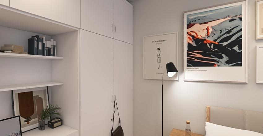 Bedroom 4 Interior Design Render