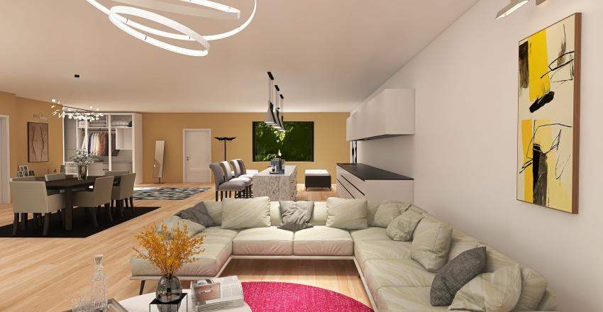 Single family home design Interior Design Render