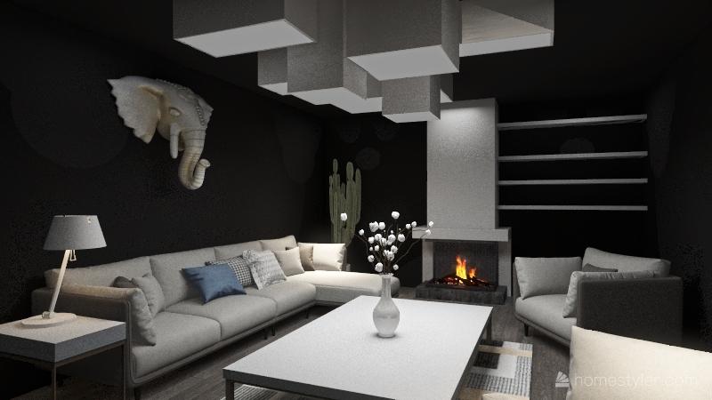 White Elephant Interior Design Render