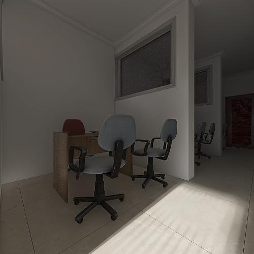 OFICINAS KAROLINE Interior Design Render
