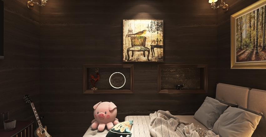 L E A's Cabin Interior Design Render