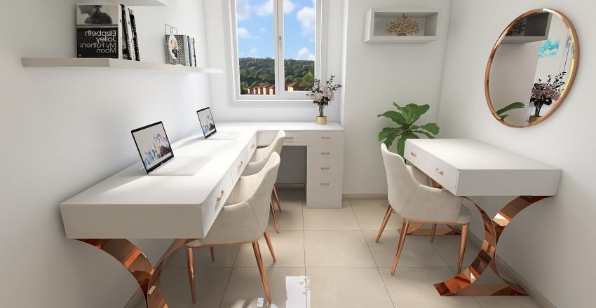 Copy of Estudio pequeño Interior Design Render
