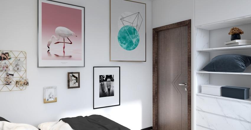 Appartament Interior Design Render