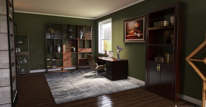 house build Interior Design Render