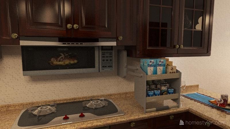 Simple Plain, Fun living. Interior Design Render